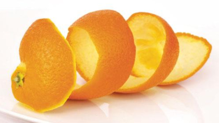 vỏ cam quýt