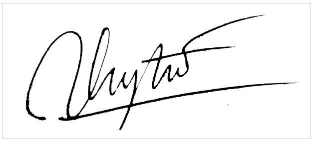 Chữ ký đẹp tên Trang