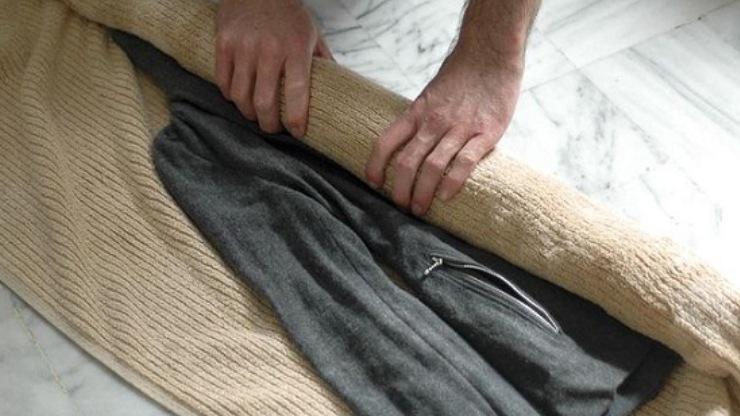 cách giặt áo dạ không xù lông