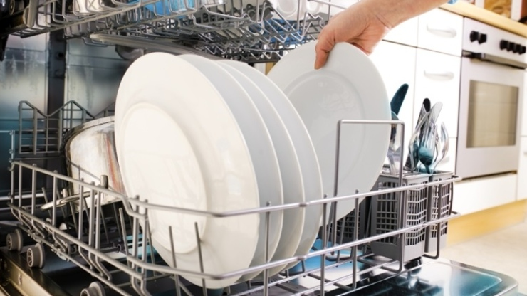 máy rửa bát có sạch không