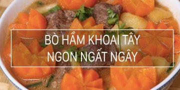 bò hầm khoai tây 1
