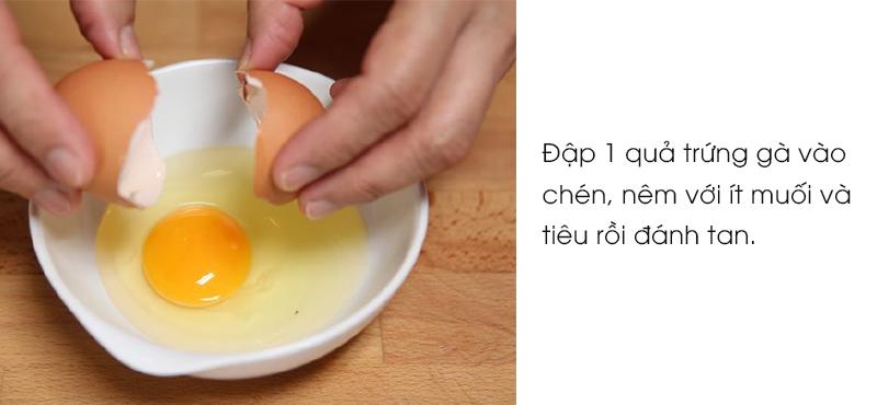 cách làm mì xào trứng 2