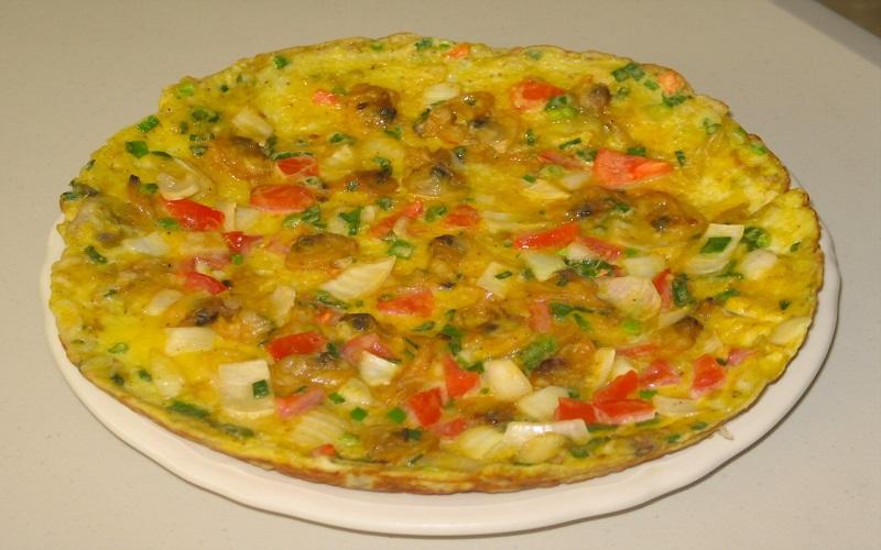 cách làm món trứng chiên cà chua 3
