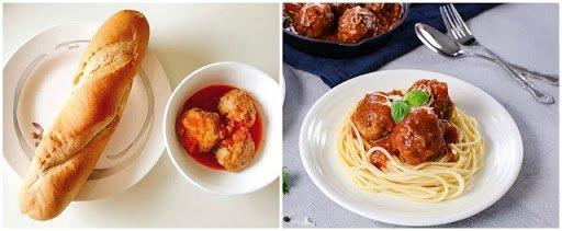 cách làm thịt viên sốt cà chua 2