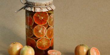 cách ngâm chanh đào mật ong