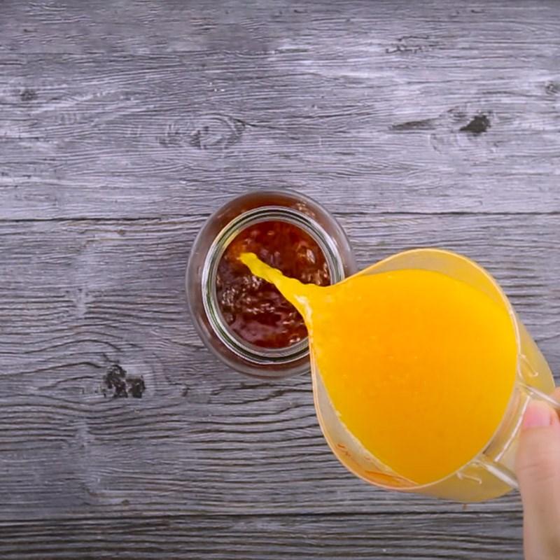 pha nước cam và trà