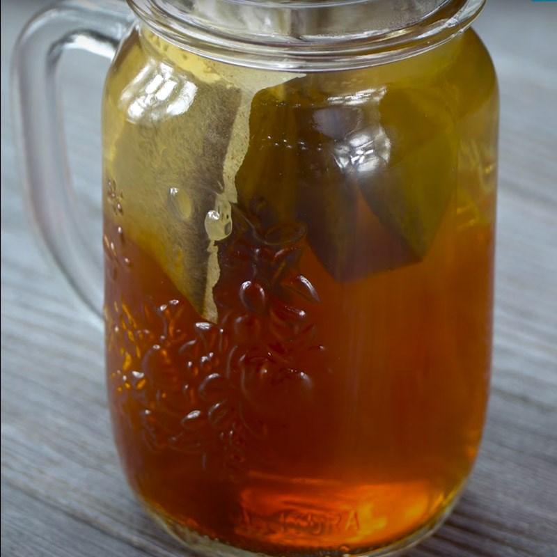 pha trà sả 2