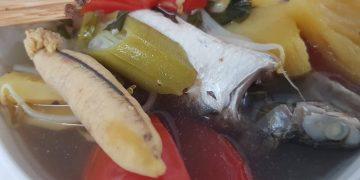 cá đối nấu canh chua